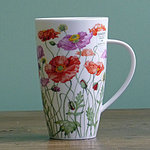 Becher - POPPIES Red & Pink - Dunoon Henley