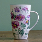 Becher - POPPIES Pink - Dunoon Henley