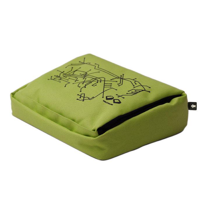 tabletpillow limegreen bosign tablet pc kissen in gr n. Black Bedroom Furniture Sets. Home Design Ideas