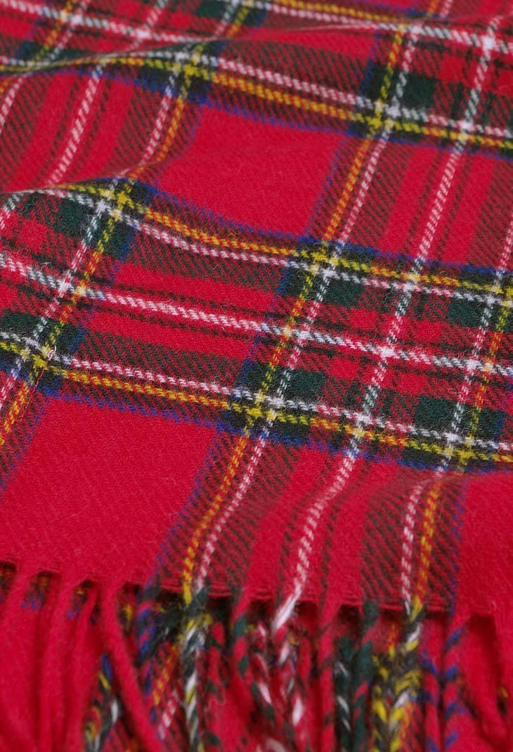 wollschal royal stewart tartan bronte tweeds schottenkaro. Black Bedroom Furniture Sets. Home Design Ideas
