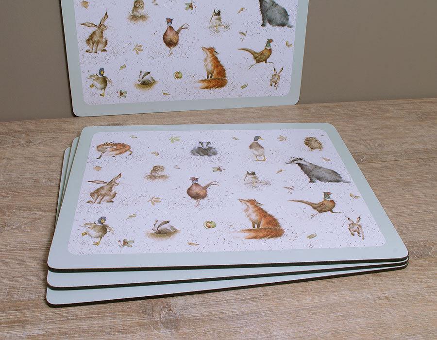Wrendale designs placemat tischset von pimpernel by h for Tischset design