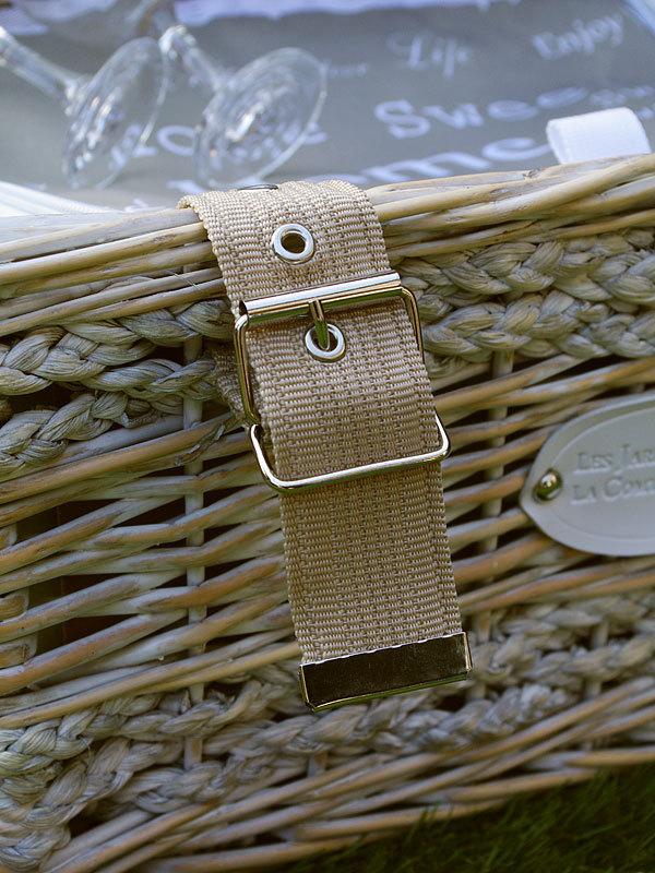 picknickkorb love sweet home f r 2 personen les jardins. Black Bedroom Furniture Sets. Home Design Ideas