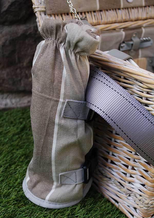 picknickkorb polo club stripes f r 4 personen les jardins. Black Bedroom Furniture Sets. Home Design Ideas