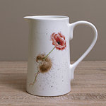 Wrendale Krug - MOUSE & POPPY - Designs Jug - Maus