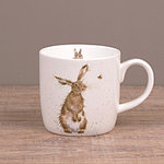 Wrendale Becher - THE HARE & THE BEE - Designs Hase