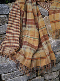 Johnstons Wendedecke - FINDHORN Check - Doubleface Plaid