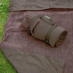 Picknickdecke Tweedmill RUG ROLL - Chocolate Fleece