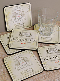 Pimpernel Untersetzer - VIN DE FRANCE - Coasters