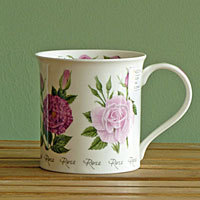 Dunoon Becher - SUMMER FLOWERS Rose - Bute