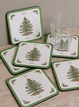 "Pimpernel Glasuntersetzer - CHRISTMAS TREE ""Spode"" - Coasters"