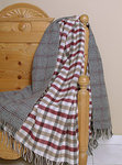 Johnstons Wendedecke - TAY Check - Doubleface Plaid