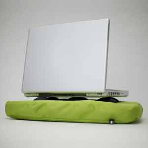 Surfpillow - LIMEGREEN - Bosign Surfkissen für LapTops