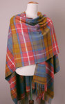 Poncho Lambswool - ANTIQUE BUCHANAN - Bronte Tweeds