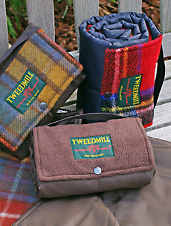 Outdoordecken Tweedmill - WALKER - Wolle & Fleece