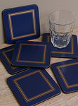 Pimpernel Glasuntersetzer - MIDNIGHT CLASSIC - Coasters