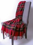 Wolldecke - ROYAL STEWART - Plaid Bronte
