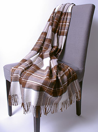 Wolldecke - NATURAL DRESS STEWART - Plaid Bronte
