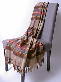 Wolldecke - ANTIQUE DRESS STEWART - Plaid Bronte