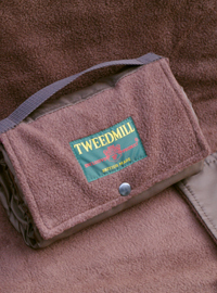 Outdoordecke Tweedmill WALKER Fleece - Chocolate