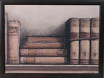 Knietablett - LAP TRAY - Old Books