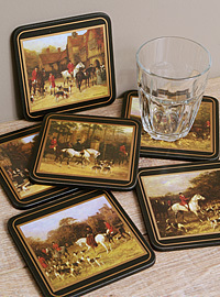 Pimpernel Glasuntersetzer - TALLY HO - Coasters