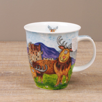 Dunoon Becher - HIGHLAND ANIMALS Stag - Nevis