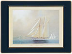 Tischsets Lady Clare - RACING YACHTS - Placemat 4er Set