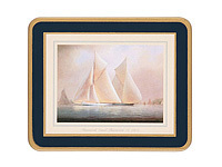 Glasuntersetzer Lady Clare - RACING YACHTS - Coaster 6er Set