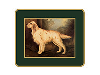 Untersetzer Lady Clare - SPORTING DOGS - Coaster 6er Set
