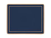 Glasuntersetzer Lady Clare - OXFORD BLUE - Coaster 6er Set dunkelblau