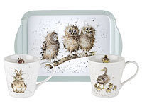 WRENDALE DESIGNS - Pimpernel Mug & Tray Set -  Geschenkset