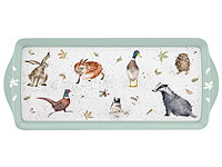 WRENDALE DESIGNS - Pimpernel Melamine Tray - Sandwich Tablett