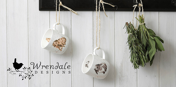 WRENDALE DESIGNS - Tiermotiv Becher