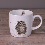 Becher - WHAT A HOOT - Wrendale Designs Eule