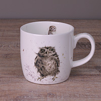 Wrendale Becher - WHAT A HOOT - Designs Eule
