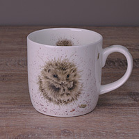 Wrendale Becher - AWAKENING - Designs Igel