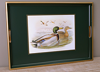 Tablett Lady Clare - GOULD DUCKS - Large Tray