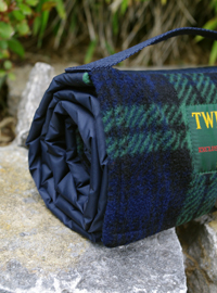 Outdoordecke Tweedmill WALKER Fleece - Black Watch