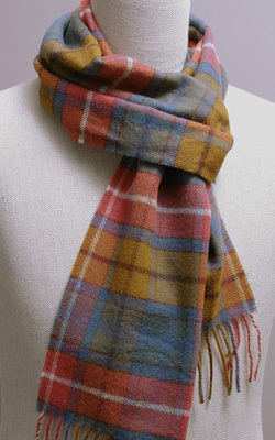 Wollschal - ANTIQUE BUCHANAN Tartan - Bronte Tweeds