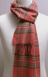 Wollschal - ANTIQUE ROYAL STEWART Tartan - Bronte Tweeds