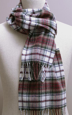 Wollschal - DRESS MAC DUFF Tartan - Bronte Tweeds