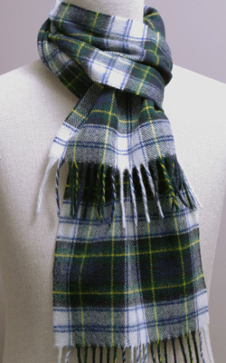 Wollschal - DRESS GORDON Tartan - Bronte Tweeds