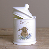 Wrendale Kaffeedose - HARE - Designs Coffee - Hase