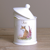 Wrendale Teedose - FOX - Designs Tea - Fuchs