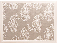 Knietablett - LAP TRAY - Paisley Nature Cream