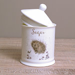 Wrendale Zuckerdose - HEDGEHOG - Designs Sugar - Igel