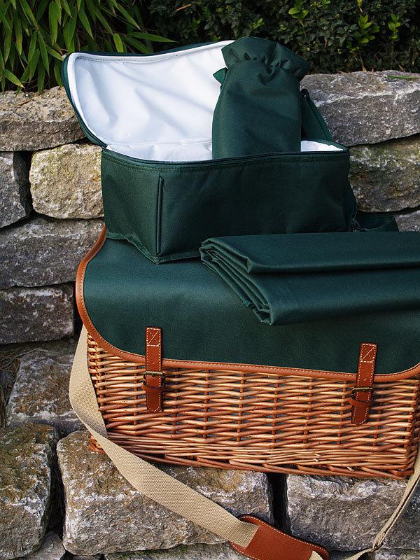 picknickkorb saint honore table f r 4 personen les jardins. Black Bedroom Furniture Sets. Home Design Ideas