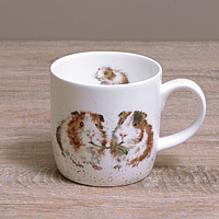 Wrendale Becher - LETUCCE BE FRIENDS - Designs Guinea Pig