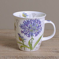 Dunoon Becher - BOTANICAL SKETCH Blue - Nevis