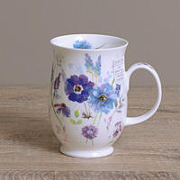 Dunoon Becher - FLORAL HARMONY Blue - Suffolk